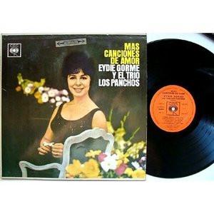 TRIO LOS PANCHOS w/EYDIE GORME Cbs 8230 ARGENTINA LP
