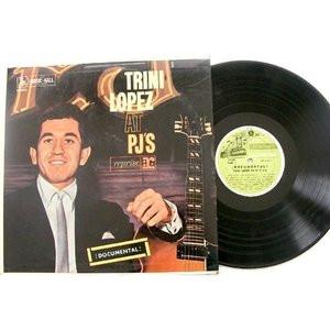 TRINI LOPEZ At PJ'S REPRISE 12301 ARGENTINA Promo LP