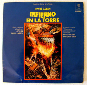 THE TOWERING INFERNO Ost JOHN WILLIAMS Wb 5145 MEXICAN LP 1975