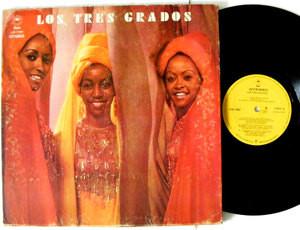 THE THREE DEGREES LOS TRES GRADOS Epic 17087 MEXICO Rare Label LP 1974