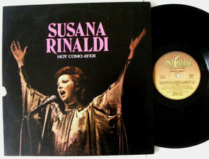 SUSANA RINALDI Hoy Como Ayer INTERDISC 17005 Arg LP 1982