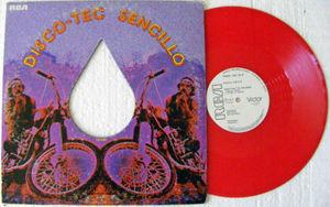 SHALAMAR Tossing Turning Swinging MEXI Promo Red Single Vinyl