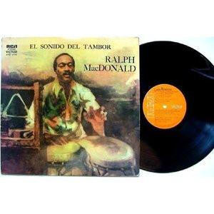 RALPH MACDONALD El Sonido Del Tambor ARGENTINA LP