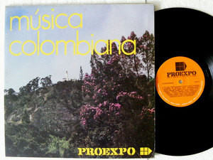 MUSICA COLOMBIANA Various Artist Proexpo 458 Colombia LP