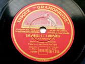 MENUHIN & PERSINGER Gramophone 1295 VIOLIN 78rpm MOZART