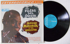 MARIANO MERCERON Padre del Danzon RCA 249 Mexico LP 1967 NM