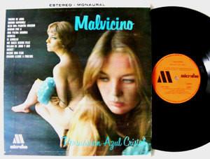 MALVICINO Persuasion Azul MICROFON 1002 Mexico LP