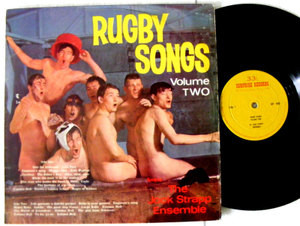 JOCK STRAPP ENSEMBLE Rugby Songs Vol II SURPRISE 1012 England Nude LP