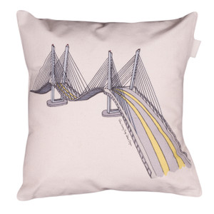 Tilikum Crossing Throw Pillow