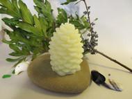 100% beewax pine cone