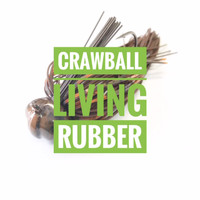 Crawball Football Jig Living Rubber