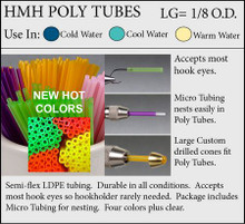 HMH Poly Tube Fly Tubes