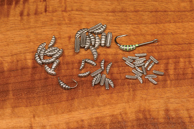 Hareline Ribbed Tungsten Scud/Shrimp Bodies