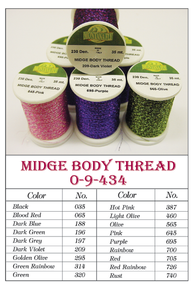 MFC Midge Body Thread