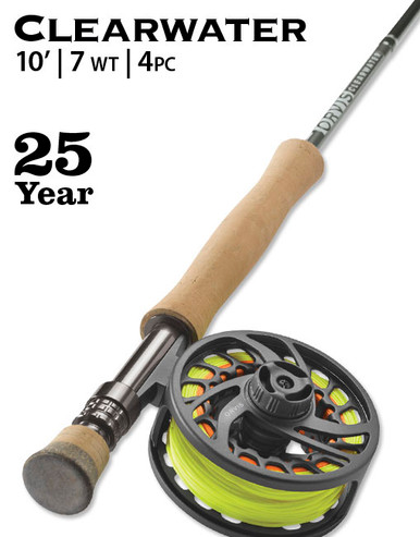 Orvis Clearwater 107-4 Fly Rod