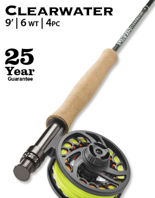 Orvis Clearwater 906-4 Fly Rod Outfit