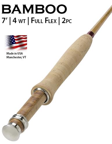Orvis Penn's Creek Full-Flex Bamboo Fly Rod