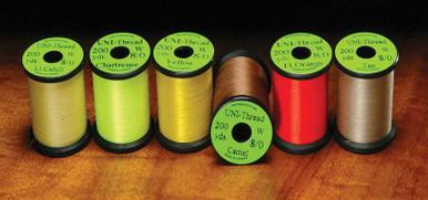 UNI 8/0 Waxed Fly Tying Thread
