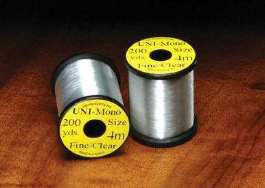 UNI Clear Mono 3/0 Fly Tying Thread