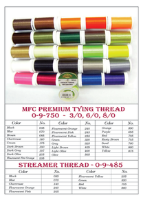 MFC Premium Fly Tying Thread- 8/0