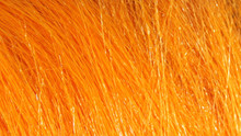Hareline Extra Select Craft Fur- Bright Orange