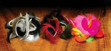 Hareline Rabbit Strip Combo Packs- 1/8""