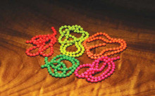 Fluorescent Bead Chain Eyes