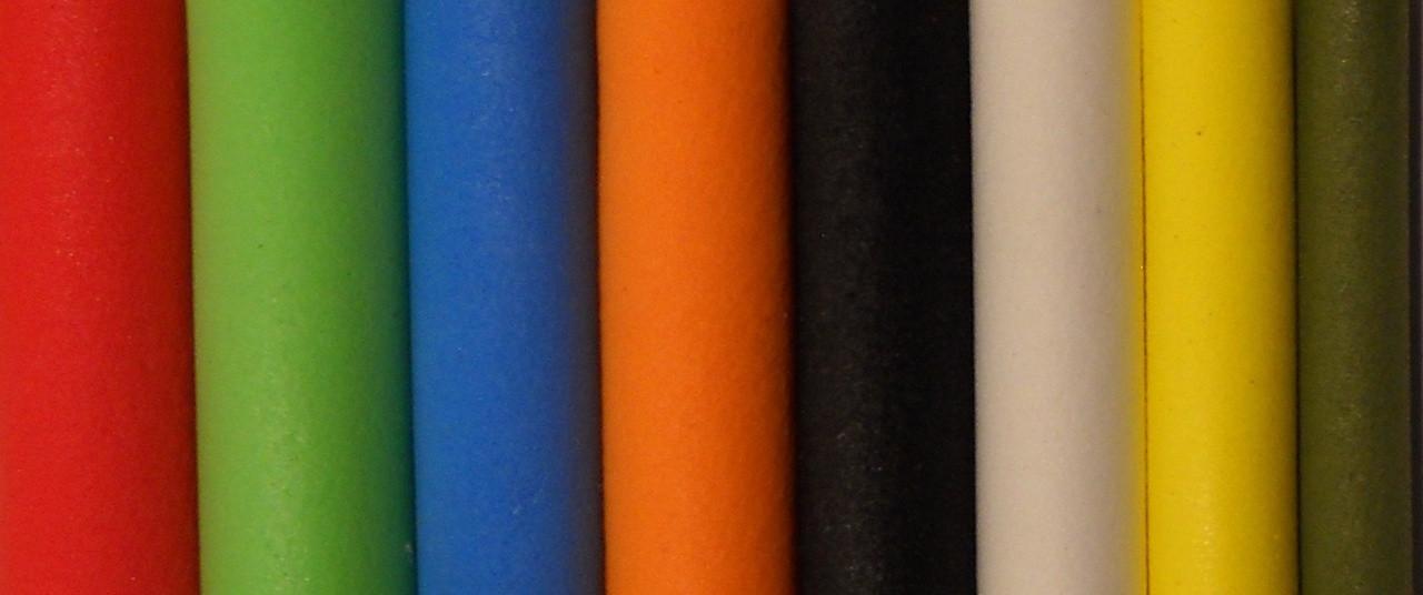 "1.5/"" Long Foam Cylinders River Road Creations"