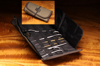 Hareline Roll Up Tying Tool Pouch