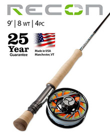 Orvis Recon 8 Weight 9' Fly Rod- Big Game (Complete Outfit)