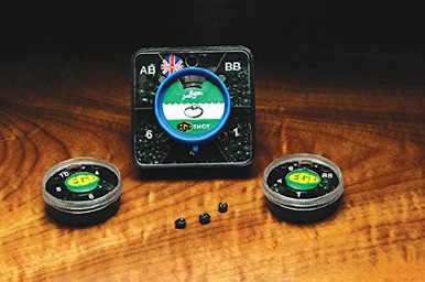 Dinsmore's Removable Egg Shaped Split Shot Dispensers- AB-06