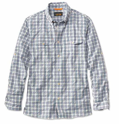 Orvis Rainy Bridge Long-Sleeved Shirt- Mist