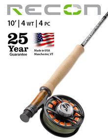Orvis Recon 4-weight 10' Fly Rod (Complete Outfit)