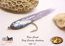 Deer Creek Anchovy Fisheadz (Tied by Deer Creek Pro Tolis Lachanas, Greece)