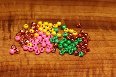 Hareline Slotted Tungsten Fly Tying Beads (New Colors)