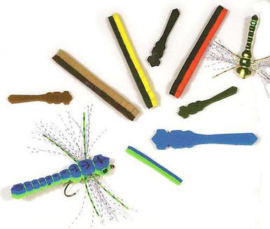 Whitlock's Gorilla Damsel/Dragonfly Bodies- Rainy's Flies