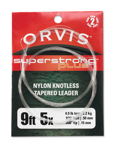 Orvis Super Strong Plus Leaders- 9ft.