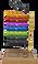 Regal Revolution Fly Tying Vise- (Top to Bottom) Orange Ember, Hot Rod Red, Ultra Violet, Royal Blue, Cool Lime, Rustic Pine, Black