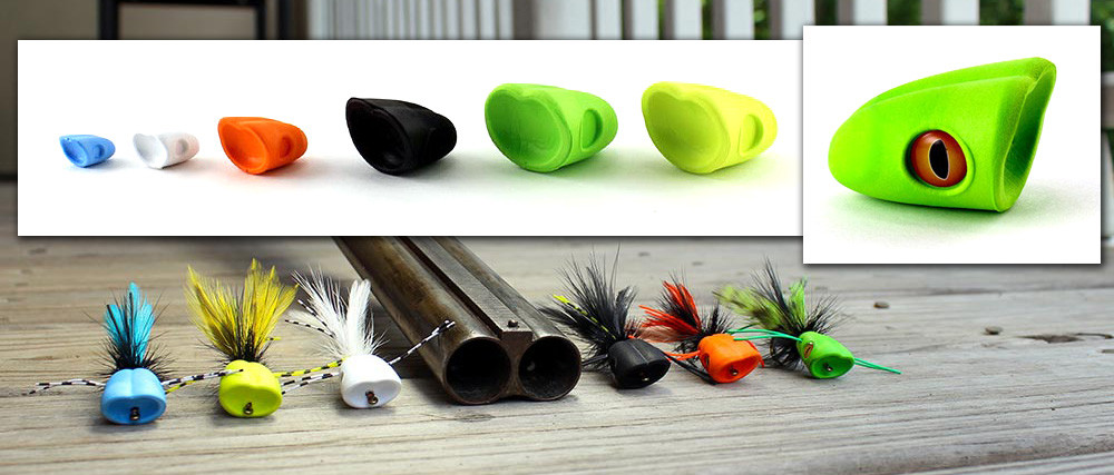PIKE SURFACE SEDUCER HOWITZER BAITFISH POPPER HEADS U PICK SIZE//COLOR BASS.