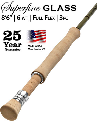 Orvis Superfine Glass 866-3 Fly Rod