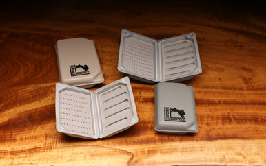Hareline Eco Leather Foam Fly Box
