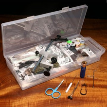 Hareline Fly Tying Material Kit w/ Premium Tools and Vise