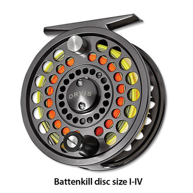 Orvis Battenkill III Disc Drag Fly Reel