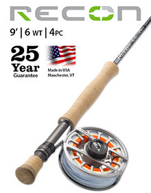 Orvis Recon 6 Weight 9' Fly Rod- Big Game