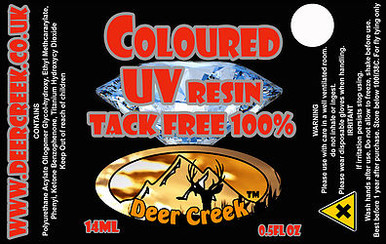 Deer Creek Diamond Flex UV Resin- Red