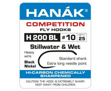 Hanak H 200BL Stillwater & Wet Fly Tying Hook