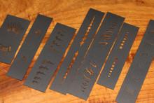 Kiley's Baitfish Stencil Kit