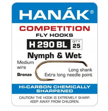 HANAK H 290 BL Nymph & Wet Fly Hook
