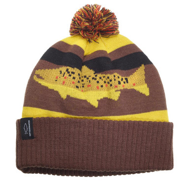 RepYourWater Digi Brown Knit Hat