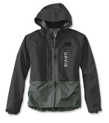 Orvis Pro Wading Jacket- Men's (Black/Ash)